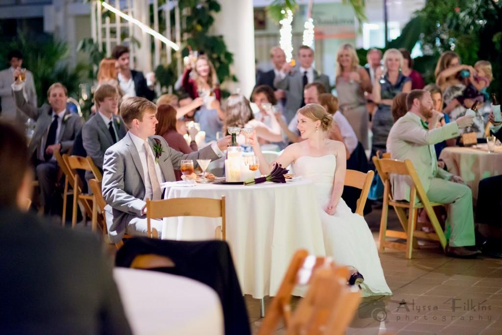 Alan Courtney Athens Botanical Gardens Wedding Alyssa Filkins